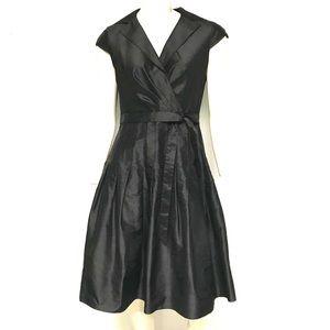 Kay Unger retro silk dress